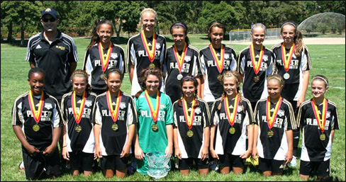 Placer United U13 Girls Crowned Champions Of Mustang Girls
