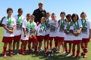 Placer United U11B Red, Santa Clara Sporting Invitational Champions