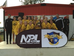 U16G Gold, 2014 NPL Champions League Champions
