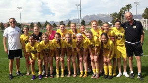 U16G 99 Gold 2015 Vegas Players College Showcase Champions