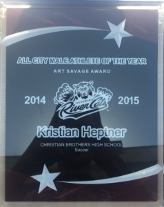 Event_All City Athlete of the Year_Kristian Heptner_2014