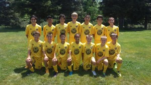 Placer United U13B 02 Black - Davis Classico Mother's Day Tournament Finalists