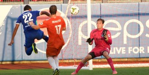 Placer United Alum, Jake Feener, Goalkeeper with USL Tulsa Roughnecks