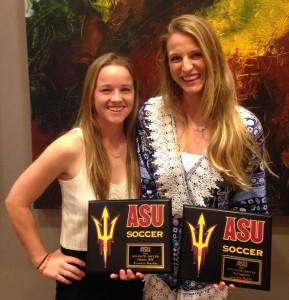 Arizona State University Aly Mood and Jessica Raybe