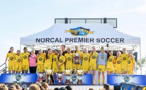 Placer United U13G 03 Gold - 2016 State Cup Finalists