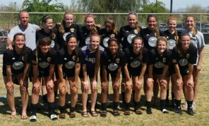 Placer United U18G Gold 2016 Las Vegas Players Showcase Champions