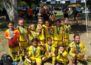 Placer United 08G Gold, 2016 Union FC Cup Champions