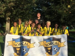 Placer United 07B Gold, NorCal State Cup 5th Place