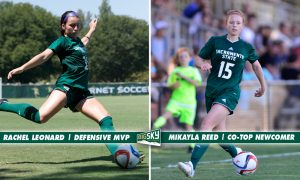 2016_Alumni_Mikayla Reed_Big Sky Conference Newcomer of the Year