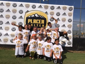 U10 Girls Champs_Placer Gold_silly
