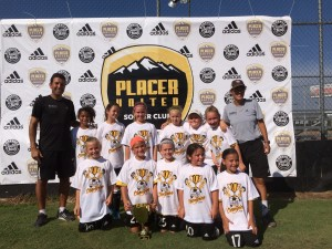U10 Girls Champs_Placer Gold_w Coaches