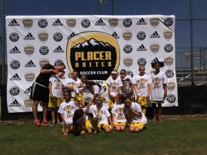 U11 Girls Champs_Placer Gold_silly