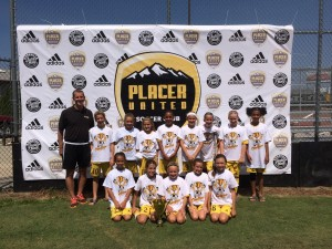 U11 Girls Champs_Placer Gold_w Coach