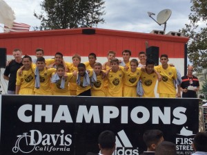 Champs_U15B 00 Gold_Davis College Showcase2_2014