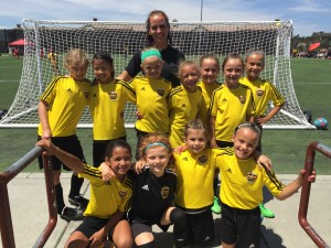 Placer United U9G 07 Gold 2015 Mustang Stampede Finalists