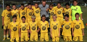 Placer United U12 Boys 04 Gold with Coach Paul O'Brien