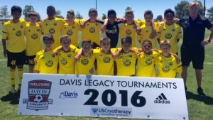 Placer United 03 Academy - 2016 Davis Showcase Finalists