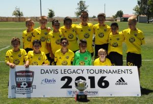Placer United 04 Academy - 2016 Davis Showcase Champions