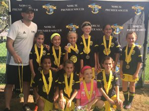 Placer United 07G Gold, NorCal State Cup 6th Place