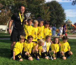 Placer United 08B Gold, NorCal State Cup 10th Place
