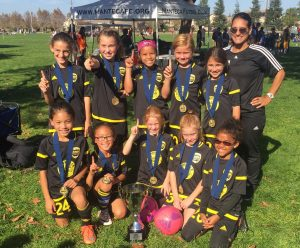 Placer United 08G Black, NorCal State Cup Champions