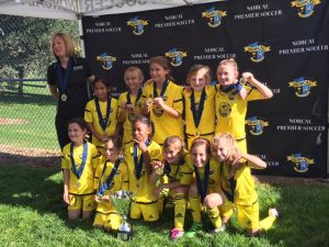 Placer United 08G Gold, 2016 NorCal State Cup 3rd Place